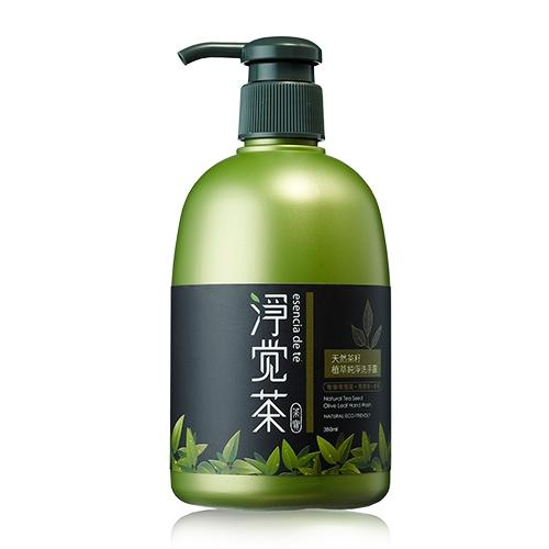 防疫專區-茶籽植萃制菌洗手露 350ml*6瓶/組