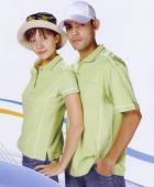 抗菌吸濕排汗短袖POLO衫-果綠色(女版)