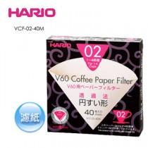 Hario V60 無漂白濾紙 1-4人份 40入 (盒裝 )