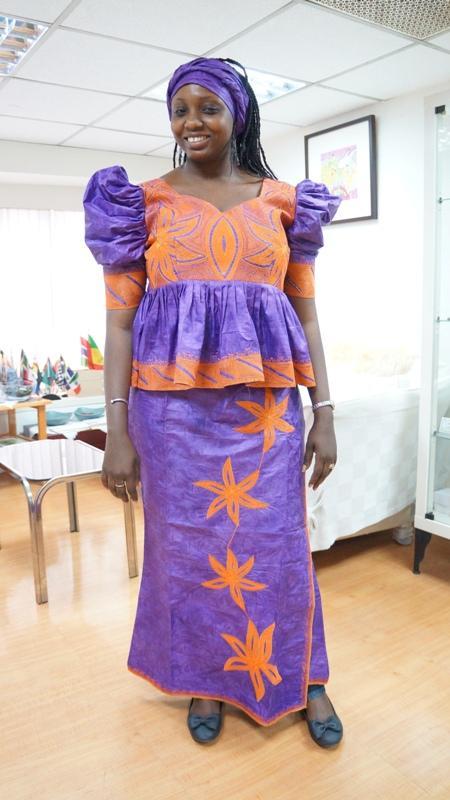 DR0008  非洲時尚設計服 African Dresses