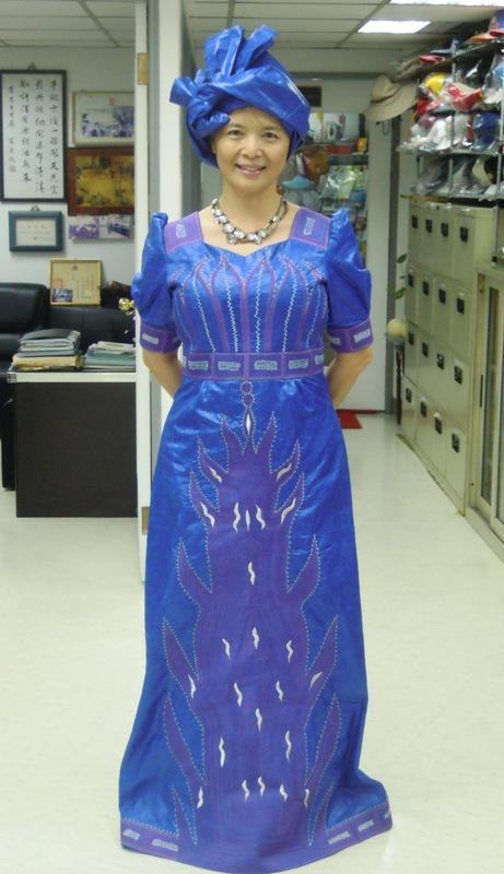 DR0002  非洲時尚設計服 African Dresses  扶輪永福-張小姐