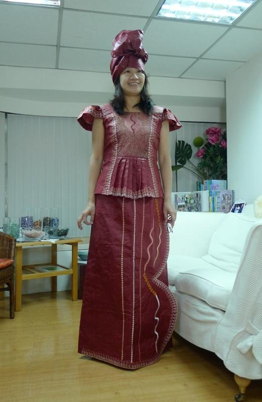 DR0004 非洲時尚設計服 African Dresses 扶輪永福-許小姐