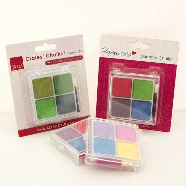 BC-4CA  軟式粉彩餅 (客製化包裝) (4入塑膠盒裝) - Soft Chalk Pastels (customized 4 shades plastic case pack)