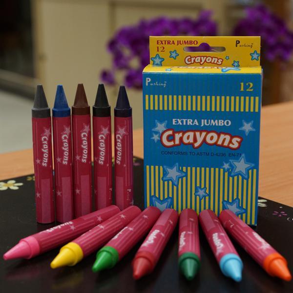 CEJ-12C  特大蠟筆 12入裝 - Crayons Extra Jumbo (12pcs pack)