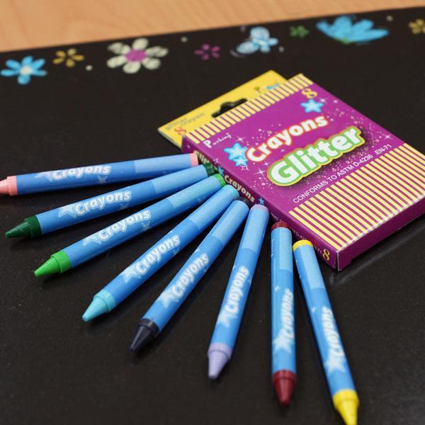 CG-8C 金蔥蠟筆 8入裝 - Crayons Glitter (8pcs pack)