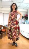 DR0003 非洲時尚設計服 African Dresses 扶輪永福-張青真小姐