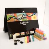 SPS24C 長條形四角粉彩筆 (客製化包裝) (24入裝) - Stick Chalk Pastels (12, 24pcs pack)