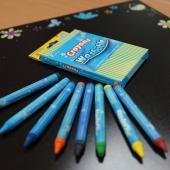 CW-8C 可水洗蠟筆 (8入裝) - Crayons Washable (8pcs pack)