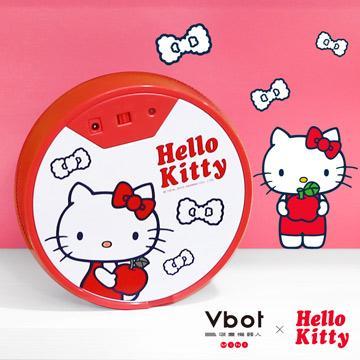 Vbot x Hello Kitty 二代限量 鋰電池智慧掃地機器人(極淨濾網型)圓型