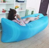 可折疊空氣沙發床 5秒充氣完成  露營旅行 歐美熱銷款 @3入組(顏色隨機)