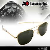 【USA美國】原廠公司貨 AO軍規飛官太陽眼鏡金框(57mm) OP57G.BA.TC