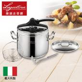 Lagostina Domina Casa Mia Vitamin 7公升壓力鍋組(含不銹鋼鍋蓋與湯勺)