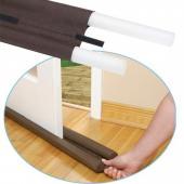 門擋隔離器 隔絕灰塵、隔絕噪音、避免冷氣外洩、防止蟲蟲入侵 (咖啡色) @8入組