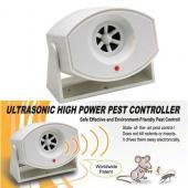 座掛兩用超強變頻超音波驅蟲器 驅鼠器 蟑螂 跳蚤 蜘蛛 蛀蟲 老鼠 塵蟎
