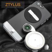 美國專利設計Ztylus iPhone 6 Plus 背蓋+(RV-2) 4合1外接鏡頭轉盤套組 鋁合金版