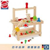 HEROS 德國木玩 組裝工作檯【AE08187】