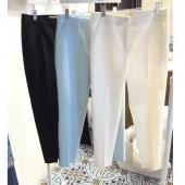MM26-挺版直筒西褲白色-M號(現貨)
