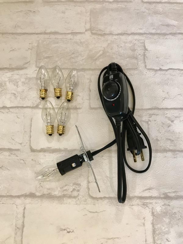 台灣安全微調電線燈泡組(燈泡10w)