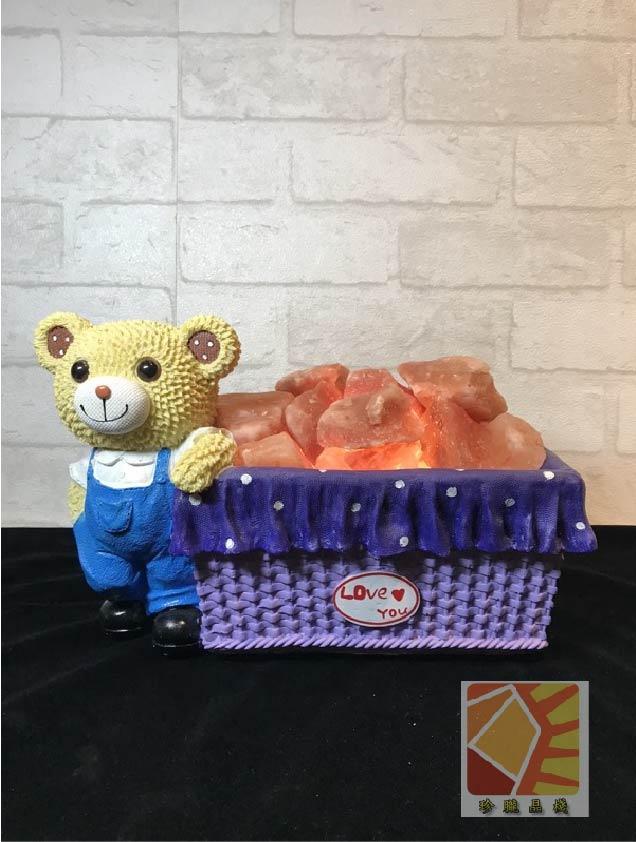 俏皮熊熊盒小夜燈