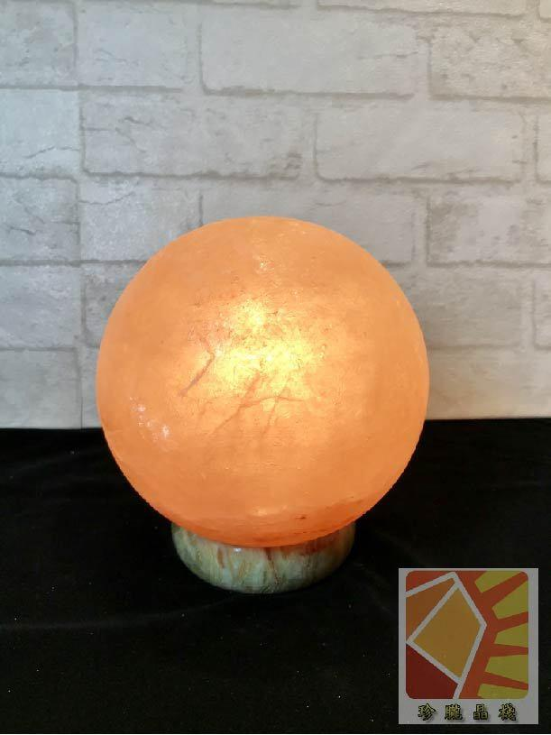 有球必應 圓型6吋造型鹽燈