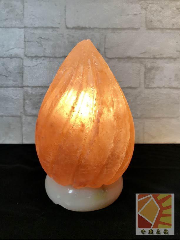水滴造型鹽燈
