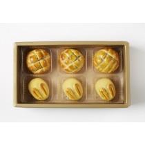 《中秋月餅》《菠蘿、玉兔》6入 美糧禮讚S4