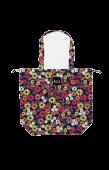 日本KIU 47080 波希米亞花園 防水防雨 空氣感豆干包/包包雨衣 購物玩沙戲水必備
