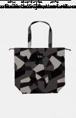 日本KIU 47103 抽象迷彩 防水防雨 空氣感豆干包/包包雨衣 購物玩沙戲水必備