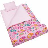 美國 Wildkin 17210 粉紅佩絲麗 拉鍊睡袋/兒童睡袋/安親班 (5-15歲)