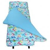 無毒幼教睡袋 符合美國標準 Wildkin 28081 小美人魚 午睡墊(3-7)