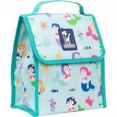 [BBB]符合CPSIA美國 Wildkin 55081 小美人魚 直立式午餐袋/便當袋/保溫袋(3歲以上)