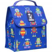 [BBB]符合CPSIA美國 Wildkin 55112 機器人總動員 直立式午餐袋/便當袋/保溫袋(3歲以上)