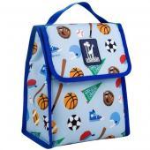 [BBB]符合CPSIA美國 Wildkin 55406 球球世界盃 直立式午餐袋/便當袋/保溫袋(3歲以上)