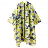 日本KIU 29053 搖滾雲朵 空氣感雨衣/親子雨披/防水斗篷 騎車露營必備 附收納袋(男女適用)