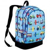 符合美國 CPSIA 標準 美國 Wildkin 14079 交通工具大集合 兒童背包/書包 (5~10歲)