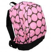 符合美國 CPSIA 標準 美國 Wildkin 14085 粉紅圓點 兒童背包/書包 (5~10歲)
