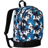 符合美國 CPSIA 標準 美國 Wildkin 14213 藍迷彩 兒童背包/書包 (5~10歲)