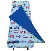 無毒幼教睡袋 符合美國CPSIA 標準 Wildkin 28079 交通工具大集合 午覺毯(3-7歲)