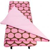無毒幼教睡袋 符合美國標準 Wildkin 28085 粉紅圓點 Nap Mat 午睡墊 (3-7歲)