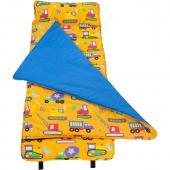 無毒幼教睡袋 符合美國標準 Wildkin 28110 怪手卡車 Nap Mat 午睡墊(3-7歲)