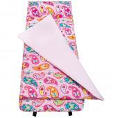 無毒幼教睡袋 符合美國標準 Wildkin 28210 粉紅佩絲麗 午睡墊(3-7)