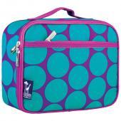 [BBB]符合美國 CPSIA 標準 Wildkin 33119 藍紫圓點 保冰保溫午餐袋/便當袋/點心盒 (3~15歲)