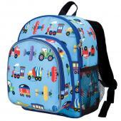 [LoveBBB] 符合美國 CPSIA 標準 Wildkin 40078 交通工具大集合 幼兒點心背包/書包 (3~6歲)