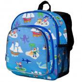 符合美國CPSIA 美國 Wildkin 40415 海盜船 點心背包/幼稚園書包/寶寶書包(3~6歲)