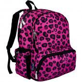 符合美國 CPSIA 美國Wildkin 79214 粉紅豹紋 大容量後背包/書包/雙肩包