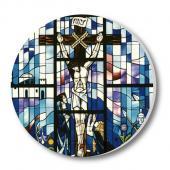 教會系列_陶瓷吸水杯墊_馬賽克十字