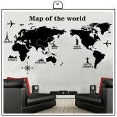 時尚壁貼~國際地圖