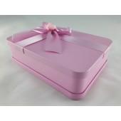符氣餅專用金屬禮盒(粉紅色)