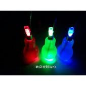 燈泡造型飲品-藍柑桔特調(400ml塑膠燈泡瓶LED發光款)