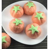 《御欣坊人氣美食》番茄紅豆包(紅豆餡)(純素)(10粒/包)   特價再享買十包送一包(可與粉紅小豬包,黃色小鴨包合並計算)